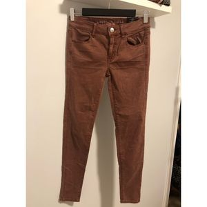 American Eagle Sateen Stretch Jeggings - NWT!